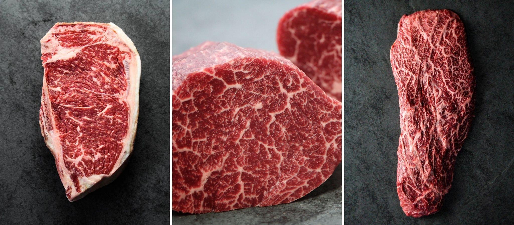 steak tenderness vs flavour